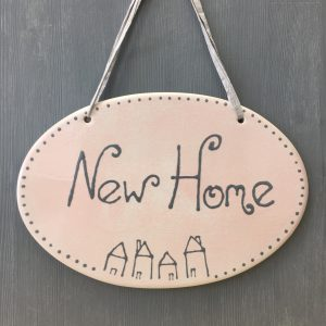 New Home Plaque