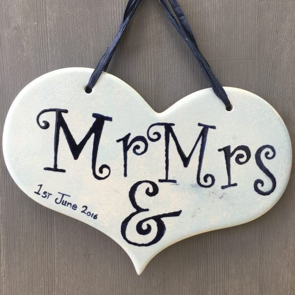 Mr & Mrs Plaque